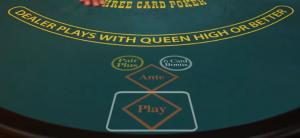 pasted image 0 11 300x138 - راهنمای بازی های کازینو زنده: بازی پوکر سه کارته