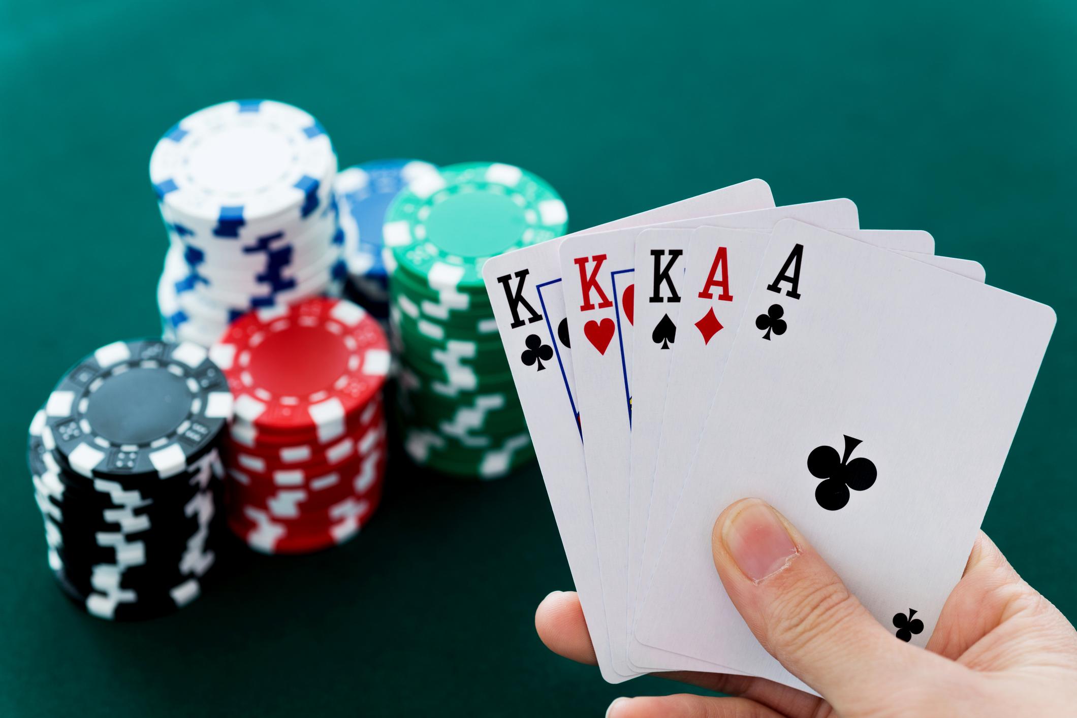 Poker - اصطلاحات پوکر