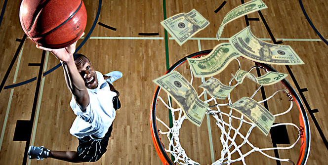 basketball hoop money - استراتژی شرط بندی بسکتبال